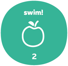 Swim group 2 badge