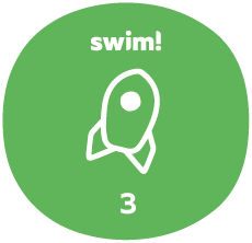 Swim group 3 badge