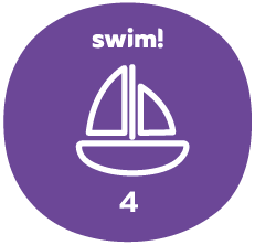Swim group 4 badge