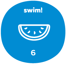 Swim group 6 badge